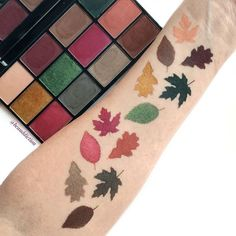 The @nyxcosmetics In Your Element Earth Palette is giving me such fall vibes!  (Link ➡️ PROFILE ) It's currently on sale at @ultabeauty for 30% off and with a coupon it's only $17.50!  I have to say, based on just the swatches so far, NYX has stepped it up with this one! The shades are super pigmented and very velvety and soft. I can't wait to play with it more!