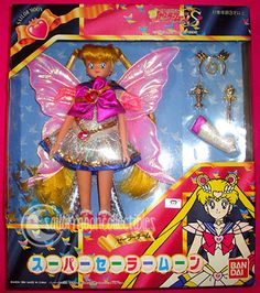 Altro Bambole Giocattoli E Modellismo Objective Sailor Moon Saturn Excellent Sailor Team Bandai Japan Doll Bambola Low Price