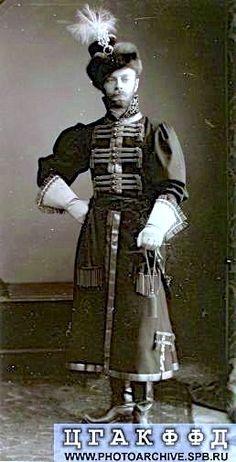 Alexander A. von Drenteln at the Winter Palace Masquerade Costume ball ...