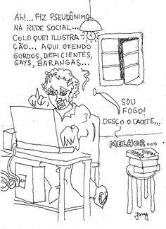 """UM """"SEM NOÇÃO"""" NA INTERNET ( A JERK IN THE INTERNET ) QUADRINHOS SEQUENCIAIS ___ 1___COM POESIA"""