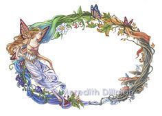 Art Portfolio — Woodland Fancies: The Art of Meredith Dillman Elf Warrior, Snow Maiden, Fantasy Portraits, Castle In The Sky, Old Paintings, Fairy Art, Art Portfolio, Arm Band Tattoo, Faeries