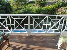 trendy Ideas for wood deck stairs railing ideas Balustrade Balcon, Balustrades, Deck Stair Railing, Balcony Railing, Wood Stairs, Balcony Grill, Steel Railing, Screened Porch Designs, Screened In Porch