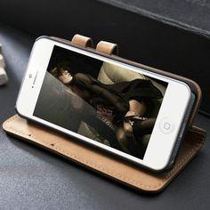 Suède cases voor iPhone 5/5S