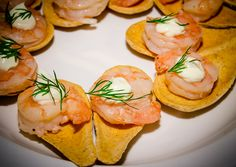 #BelkScene | Belk Department Store's Spring Fashion Show | Raleigh Special Event Catering | Grilled Shrimp and Dill Bites