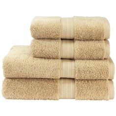 Christy Ren04 towel range in natural driftwood ($6.12) ❤ liked on Polyvore featuring home, bed & bath, bath, bath towels, fillers, bathroom, towels and christy bath towels