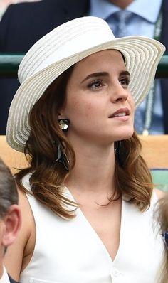 Emma Watson at Wimbledon