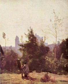 Recollections of Pierrefonds - Camille Corot