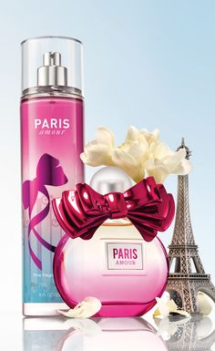 From Paris, with love! Like a romantic stroll through the City of Love, Paris Amour® is a dreamy blend of French tulips with a pop of pink champagne. my favorite body spray! Bath And Body Works Perfume, Bath N Body Works, Perfume Body Spray, Neutrogena, Body Mist, Smell Good, Body Care, Face Care, Skin Care