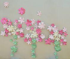 Nursery Wall Art for Girls Metal Flower by TranscendentTreasure, $262.50