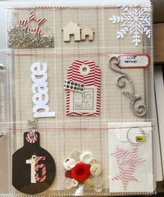 lovely pocket pages for December Daily. #Simpledecdaily