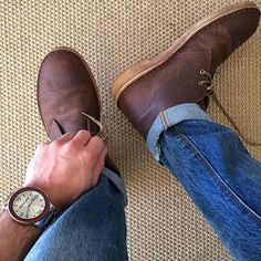 Who says you can't wear boots in the summer. Saturday style via @isnathan w/ our Rosewood #barrelwatch.