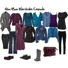 Post-Pregnancy Wardrobe Capsule