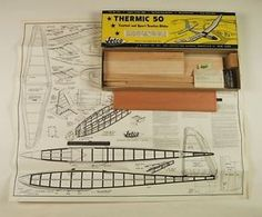 Jetco Thermic 50 Towline Glider Model Airplane Kit