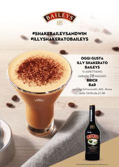Vi aspettiamo il 28 Maggio, al Brick Bar dalle 18.00 alle 21.00 per gustare insieme BAILEYS SHAKERATO! Lo staff BAILEYS SHAKERATO vi permetterà di vincere subito 2 shaker e vi farà partecipare all'estrazione di 3 viaggi per 4 persone in Irlanda. Non mancate!