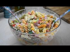 YouTube Greek Cooking, Easy Cooking, Pasta Salad, Potato Salad, Yummy Food, Ethnic Recipes, Youtube, Crab Pasta Salad, Delicious Food