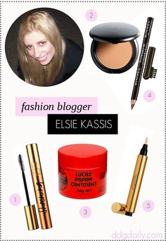 Real Girl Beauty: 5 minutes with Elsie Kassis from Diary of a Fashion Muse - dropdeadgorgeousdaily.com