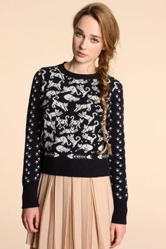 See By Chloé Cats jumper