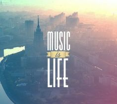 Music is Life HD Wallpaper