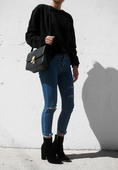 Fall fashion style contemporary street