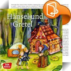 """Hänsel und Gretel    ::  """"Hänsel und Gretel"""" zählt zu den beliebtesten Märchen der Brüder Grimm. Dieses Mini-Bilderbuch erzählt das Märchen für Kinder von 3 bis 8 Jahren - in einer kindgerechten und modernen Sprache. Die ideenreichen und detailverliebten Illustrationen stammen von Petra Lefin, die schon mit der Kinderbibelgeschichten-Serie von DON BOSCO zahlreiche kleine und große Fans begeistert hat. Die hosentaschenfreundlichen Mini-Bilderbücher mit den abgerundeten Ecken sind ein be..."""