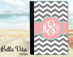 Personalized iPad Case  Personalized iPad Cover by bellavitashoppe