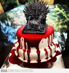 Cake of Thrones.  To go with the Game of Thrones Cake Pops.  (@Jen Alger).