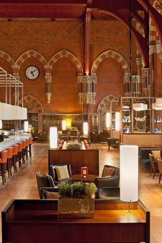 St. Pancras Renaissance Hotel London - London, United Kingdom - Try vintage…