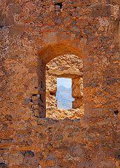 The Frangokastello castle on the Greek island of Crete by Peace Correspondent