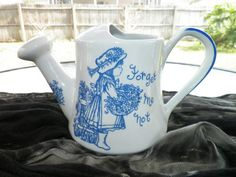 Watering Can from Royal Crownford Ironstone Staffordshire England by OldSowellShop, $14.95