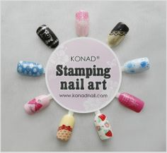 Try these with your konad image plates and polish https://www.facebook.com/konadnailartsystem?ref=hl