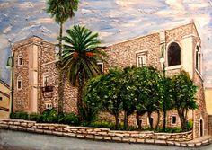 Castello Aragonese - Comiso tecnica olio su tela 70x100cm