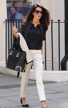 Amal Alamuddin… She's so put together in her personal / professional life!