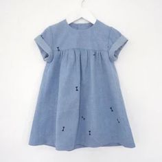 "* ""babydoll denim dress"""