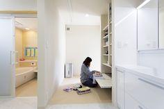 適材適所の収納で片付け上手 子どもの自立を育む家|施工実例|岡山の新築、木造住宅カバヤホーム