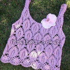 Pretta Crochet: Cropped crochet