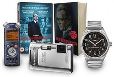 Win an exclusive Tinker Tailor Soldier Spy film themed gift set worth £500 - Competiton