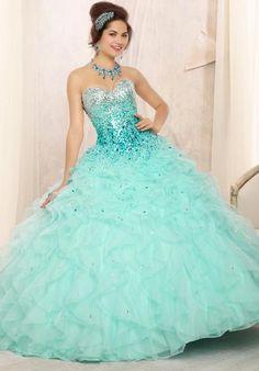 2014 Vizcaya Quinceanera Corset Top Dress 88096