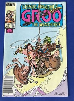 Marvel GROO The WANDERER 1986 Series #15 Comics Book EPIC May Sergio Aragone's