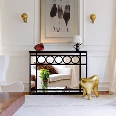 Mirror radiator covers and mirror console tables - Modern radiator covers, window shutters and console tables by Couture Cases