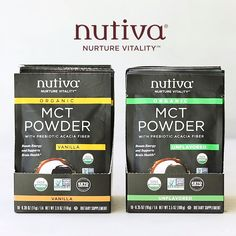 Nutiva Organic MCT Powder Single-Serve Packets for On-the-Go Keto Smoothie Recipes, Smoothie Prep, Raspberry Smoothie, Fruit Smoothies, Healthy Smoothies, Healthy Drinks, Nutrition Drinks, Keto Recipes, Free Recipes