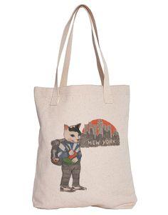 Mew York Tote Bag - SUDDENLY CAT