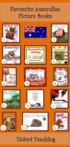 Favourite Australian Picture Books - United Teaching Read these during that week Educational Activities For Kids, Book Activities, Kids Learning, Montessori, Australia Day, Australia Crafts, Books Australia, Australian Curriculum, Mentor Texts