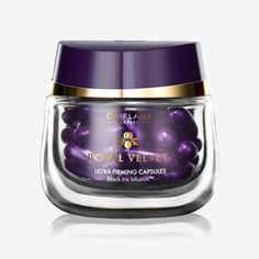 2 X Royal Velvet Ultra Firming Capsules by Oriflame for sale online Overnight Face Mask, Dark Circle Cream, Online Beauty Store, Black Iris, Toner For Face, Organic Aloe Vera, Face Lotion, Formulas, Prunus