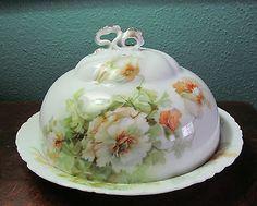 Lovely Rosenthal Versailles Muffin/Pancake Warmer- Poppies