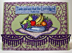 ODBDSLC197 Rain or Water  Stamps - Our Daily Bread Designs Fruit of the Spirit, ODBD Custom Vintage Flourish Pattern Die, ODBD Custom Beautiful Borders Dies, ODBD Christian Faith Paper Collection