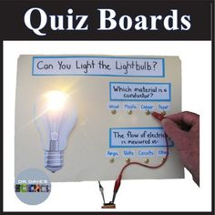 diy electrical quiz board this is something you can truly do at rh pinterest com Circuit Quiz Board Science Project Logo Quiz Answers 1