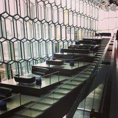 Harpa, Reykjavik Stairs, Architecture, Home Decor, Arquitetura, Stairway, Staircases, Interior Design, Ladders, Architecture Design