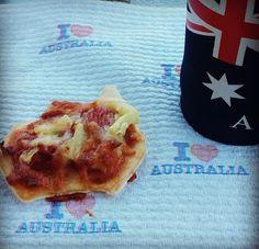 #AustraliaDayOnboard AUSSIE snack! :)