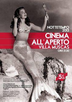 NOTTETEMPO 2013 – OPEN CINEMA – VILLA MUSCAS – CAGLIARI – JUNE 20th TO JULY 1st