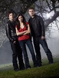 My guilty pleasure?  Vampire Diaries.  Don't knock it 'til you've watched it.  Damon's blue eyes will make you crazy...